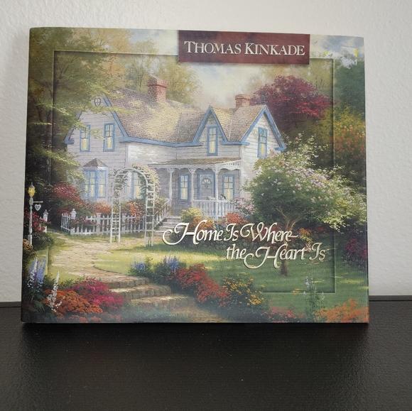 Thomas Kinkade Home Is Where the Heart Is book